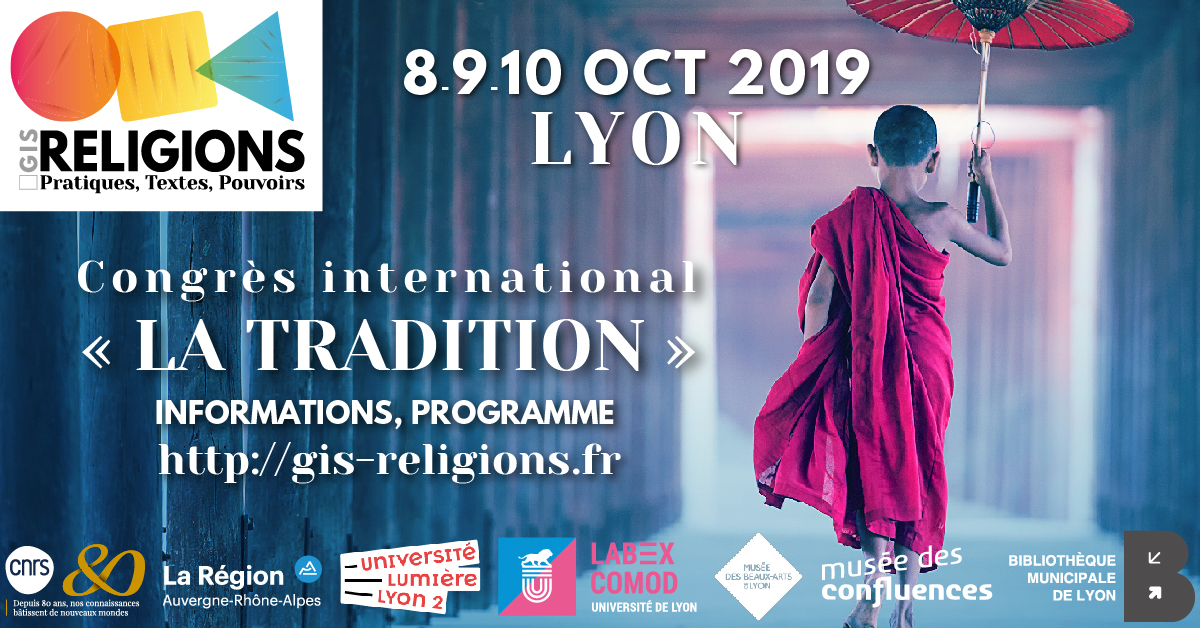 80ans Label FB GIS RELIGIONS CONGRES INTERNATIONAL LA TRADITION OCT2019 02