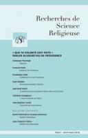 Bulletin d'ecclésiologie