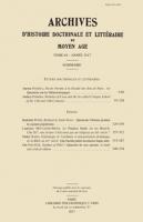 Généalogie de l'alchimie et interprétation alchimique de la Bible au XIVe siècle : qui fuerint primi inventores hujus artis