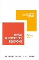 Revue du droit des religions n° 6/2018