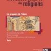 Transmission du hadith et modèle prophétique chez les premiers soufis