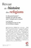 La fin des cultes et des sanctuaires païens urbains en Belgique et en Lyonnaise (IIIe s. - début du Ve s. apr. J.-C.)